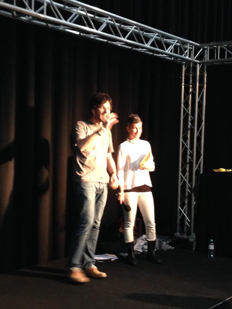 Das Content Kabarett - Marketing Rockstars Robert und Doris brachten das Publikum zum Grunzen