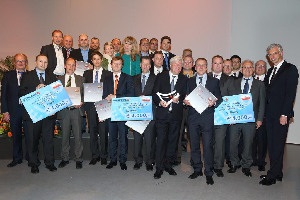 Preisträger des Landespreises für Innovation 2013