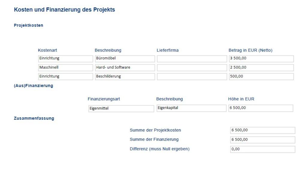 Kostenübersicht meines AWS Startup-Scheck Projektes