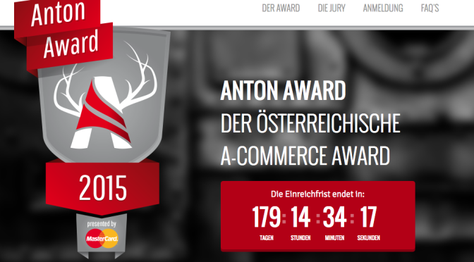 Anton Award – DER ÖSTERREICHISCHE E-COMMERCE AWARD