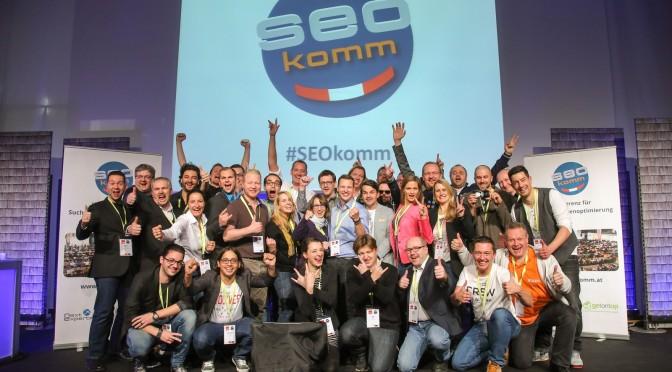SEOkomm Agenda 2015 + Rabattcode