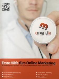 Erste Hilfe fürs Online Marketing - das Buch für alle Einsteiger die wissen wollen wie sie mehr Besucher auf die Website bekommen