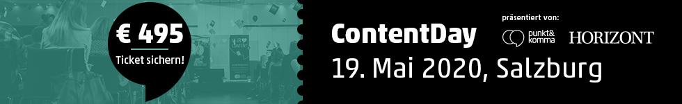 Contentday-Gutschein