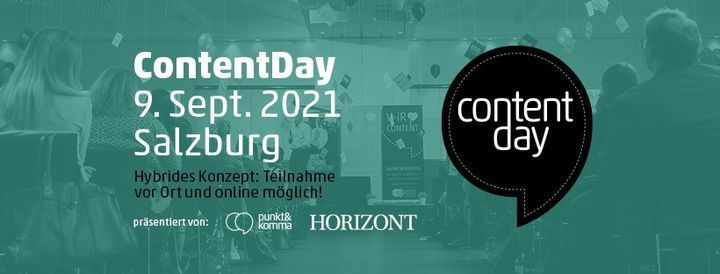 Content Day 2021 Flyer